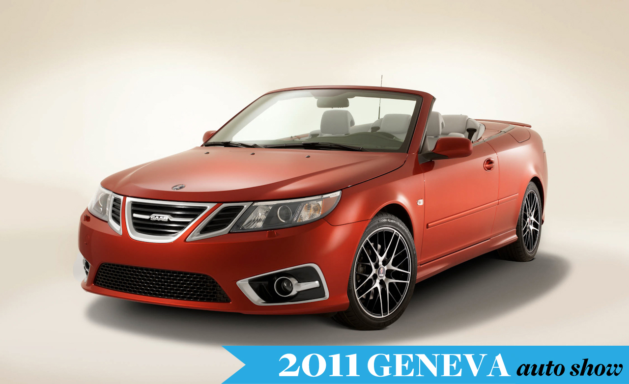 Saab 9-3 Griffin red #1
