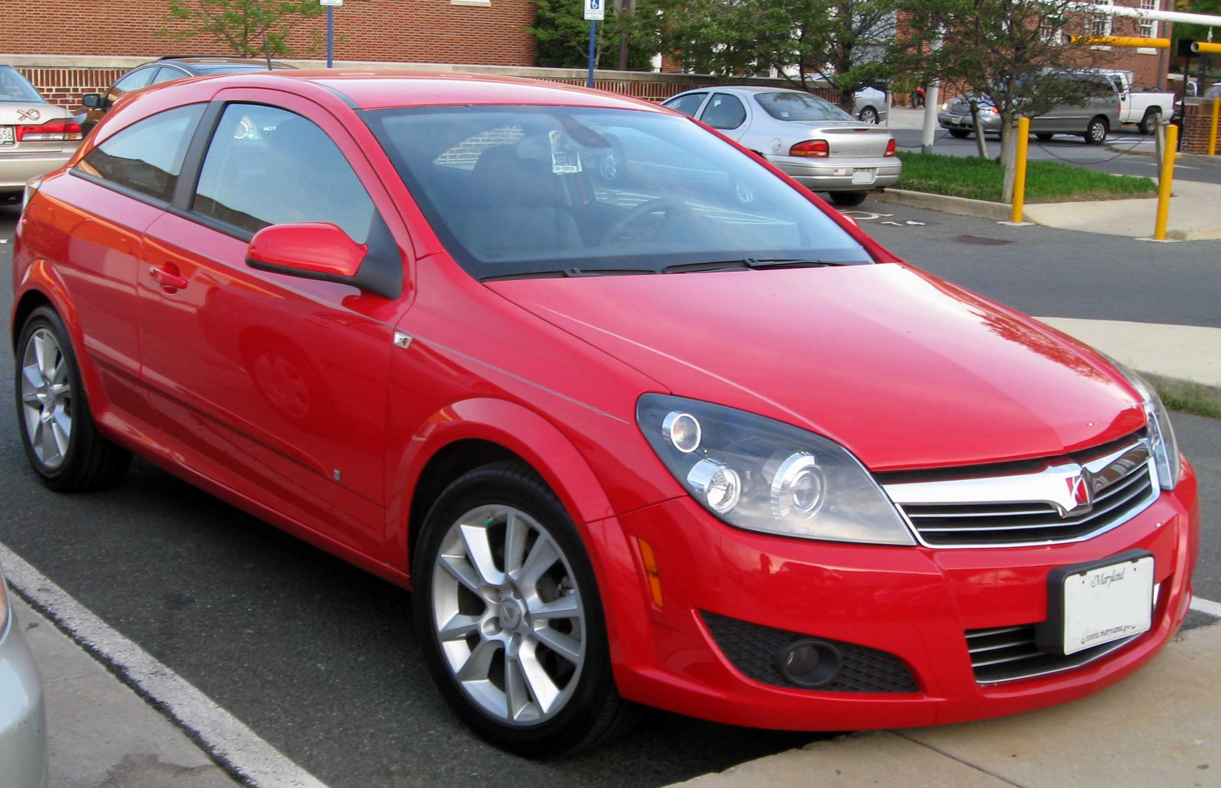 Saturn Astra red #2
