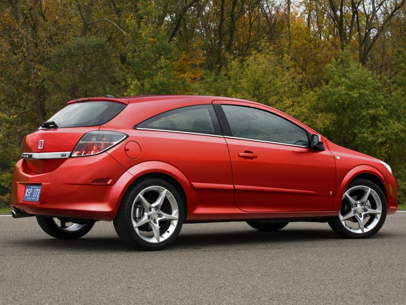 Saturn Astra red #1