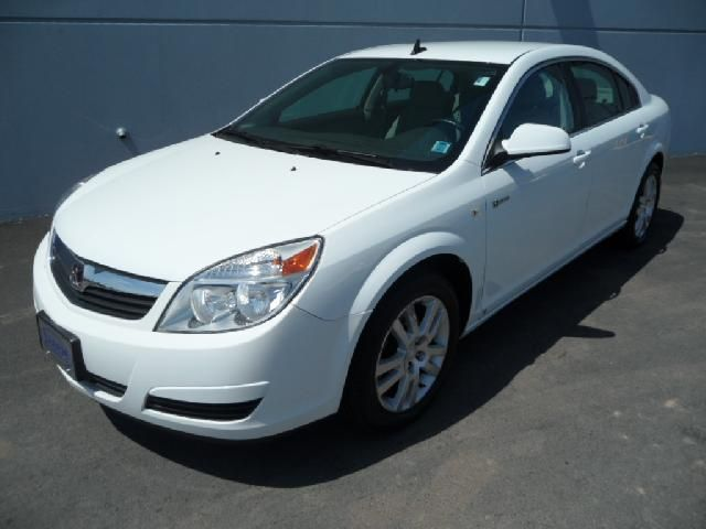 Saturn Aura Hybrid white #3