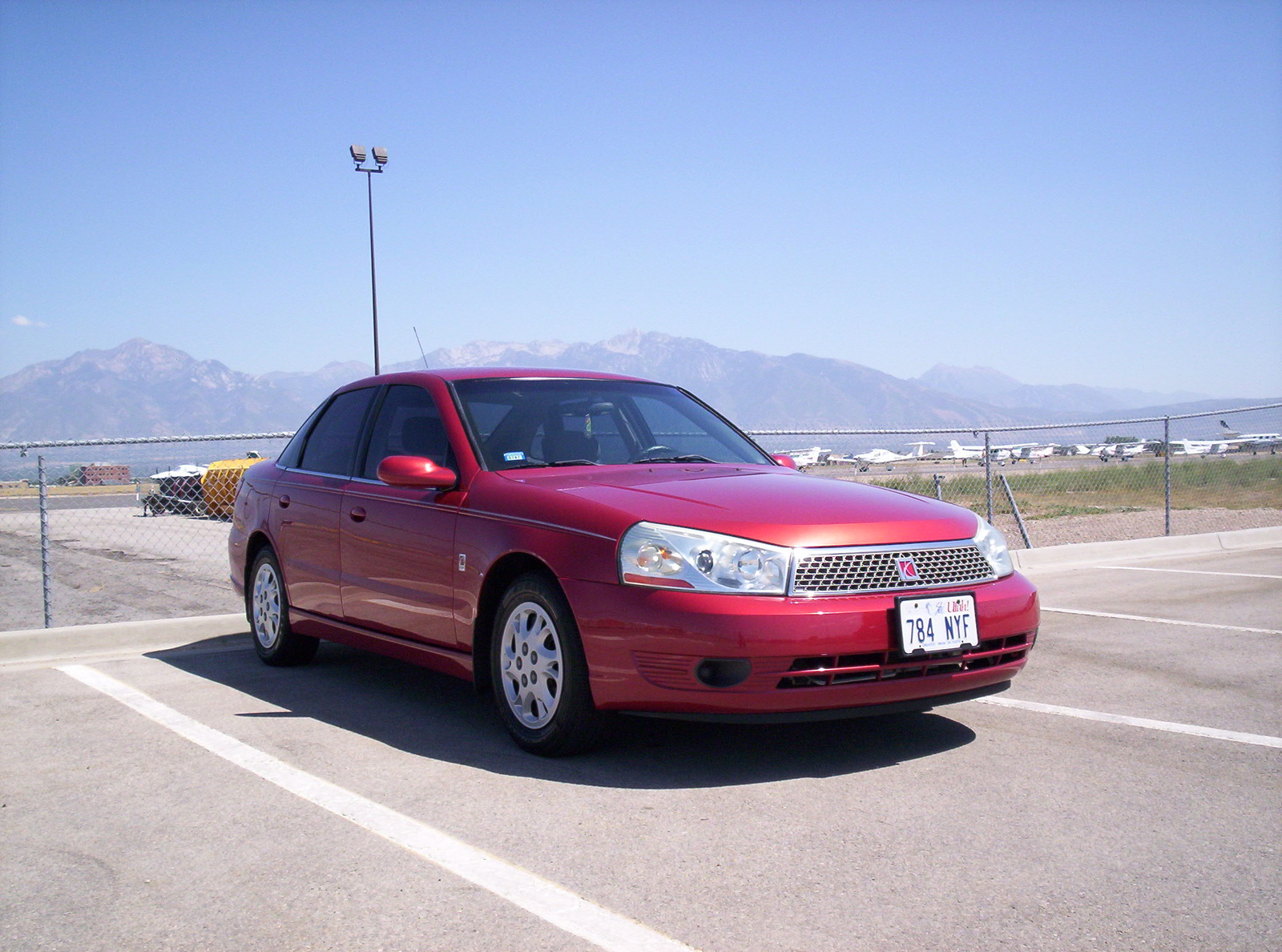 Saturn L-Series red #1