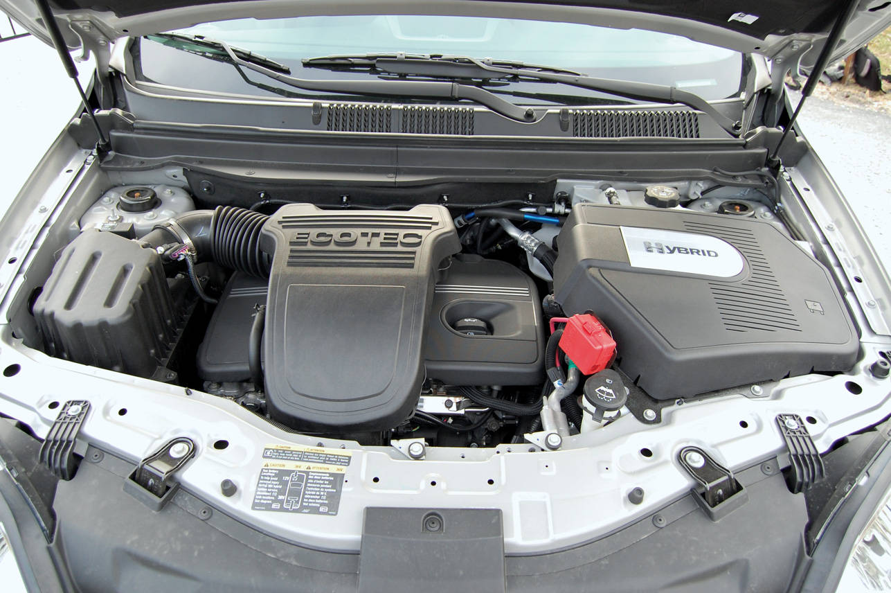 Saturn VUE Hybrid engine #1