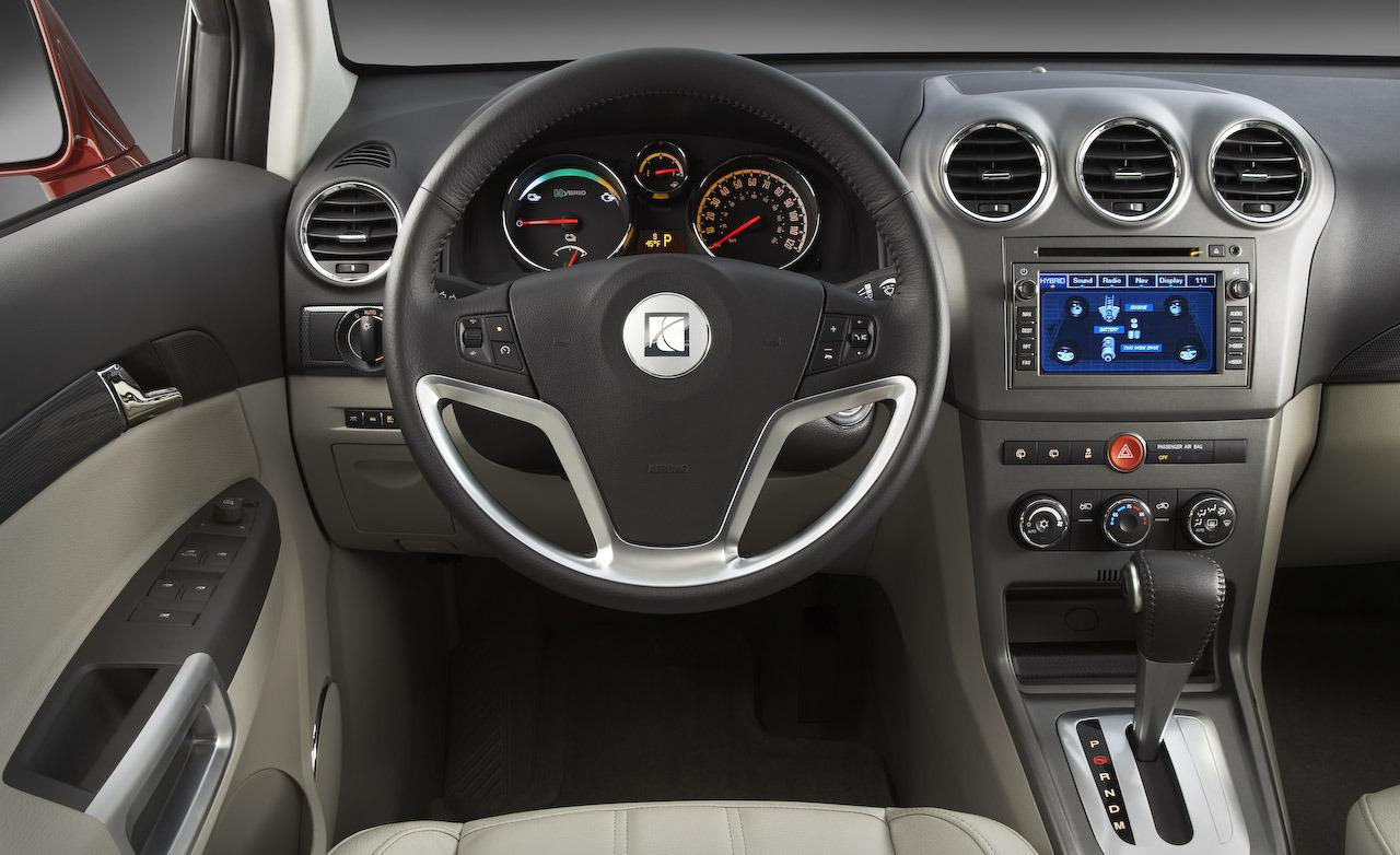 Saturn VUE Hybrid interior #1