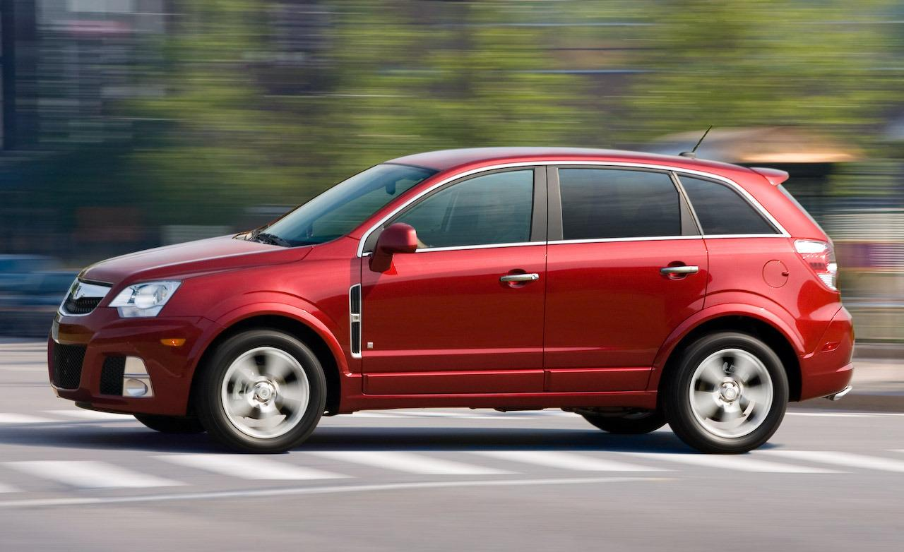Saturn VUE Hybrid red #2