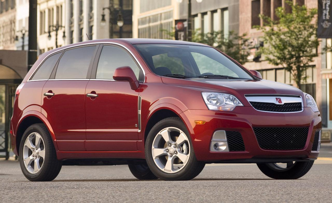 Saturn VUE Hybrid red #3
