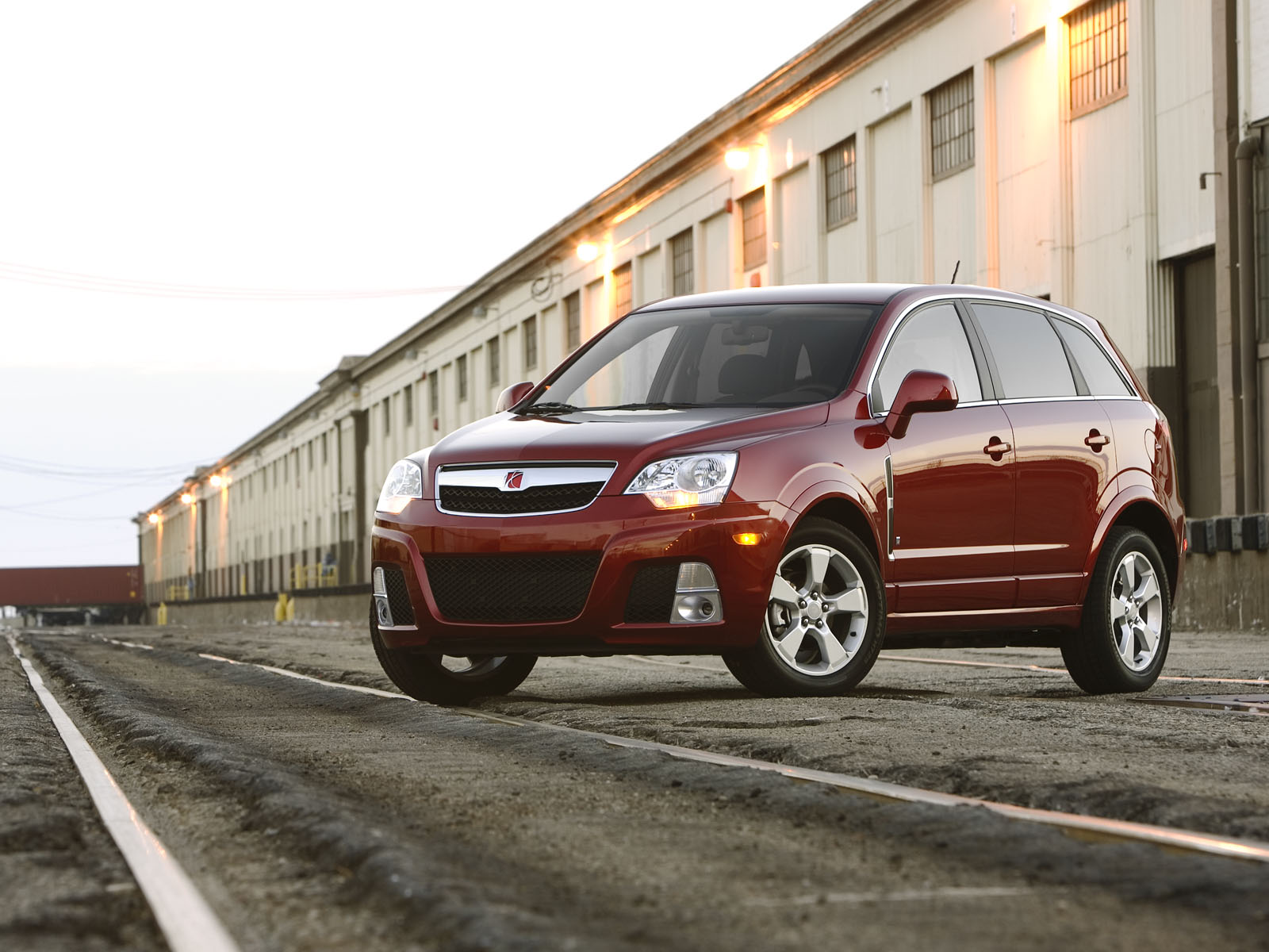 Saturn VUE Hybrid red #4