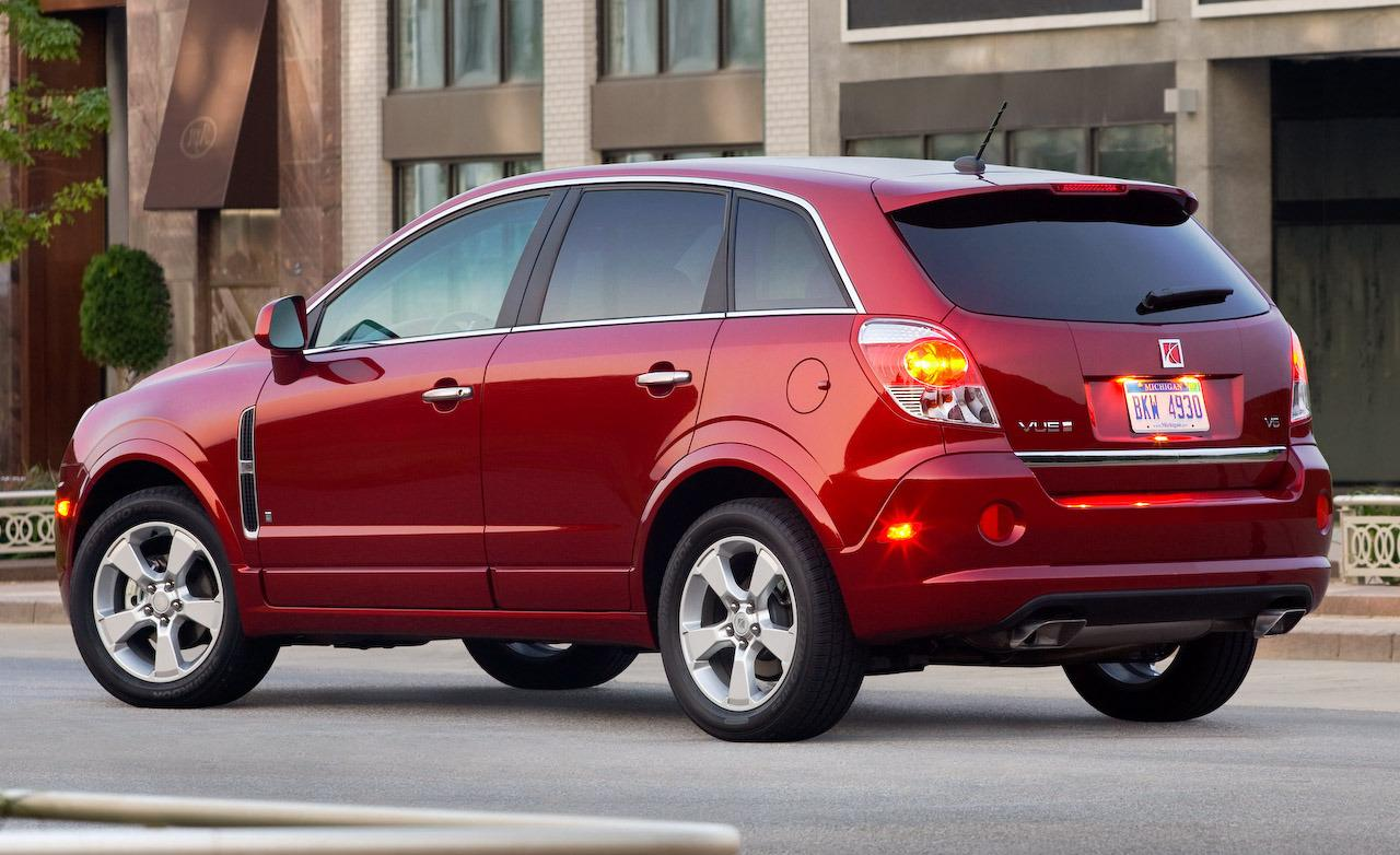 Saturn VUE Hybrid red #1