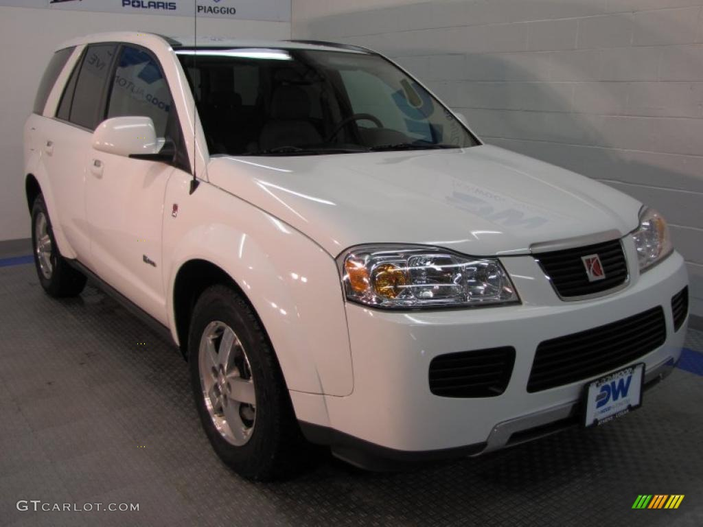 Saturn VUE Hybrid white #2