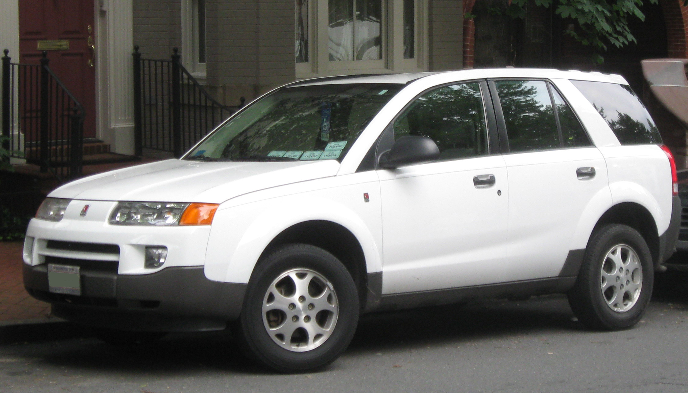 Saturn VUE Hybrid white #4