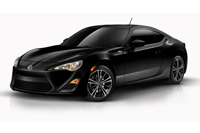 Scion FR-S black #1