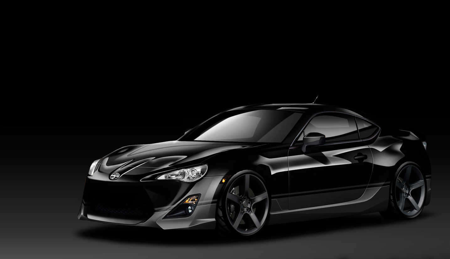 Scion FR-S black #4