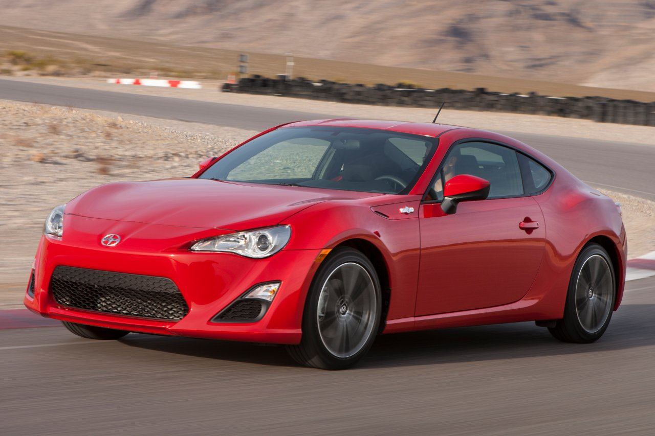 Scion FR-S red #1