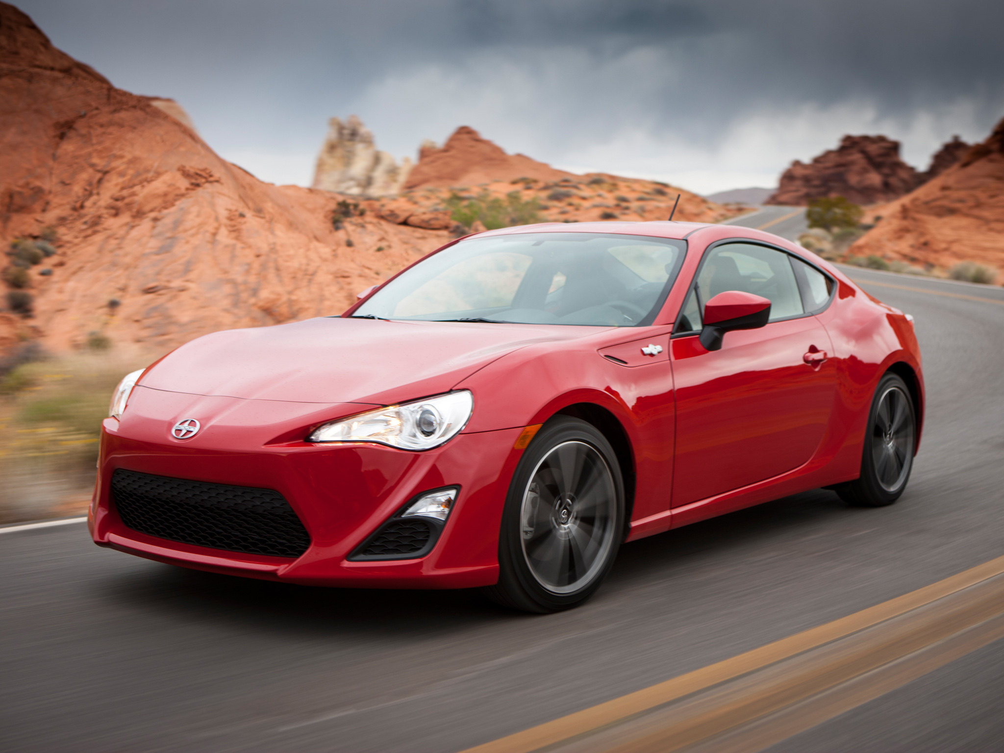 Scion FR-S red #3