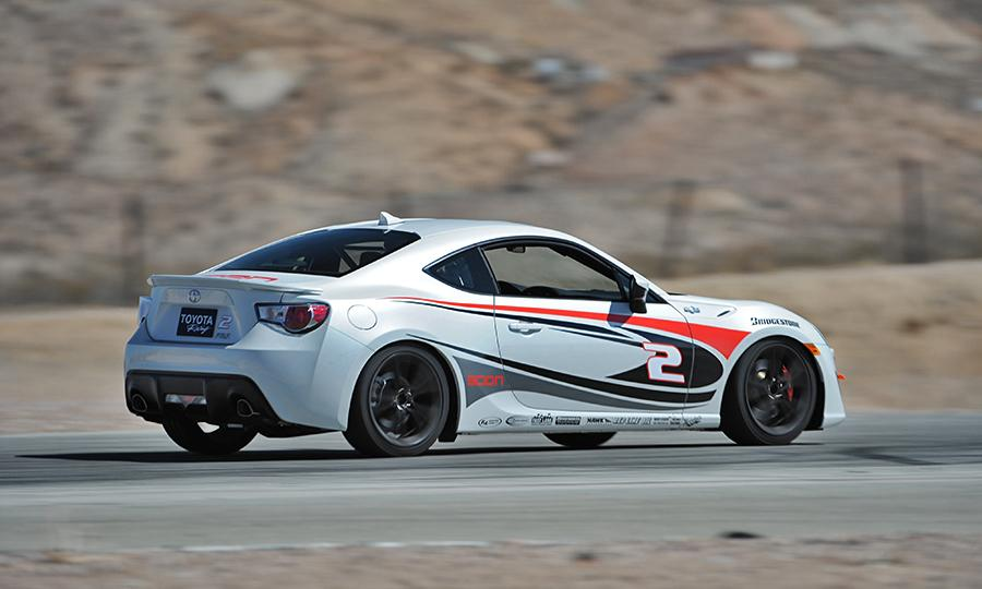 Scion FR-S white #4