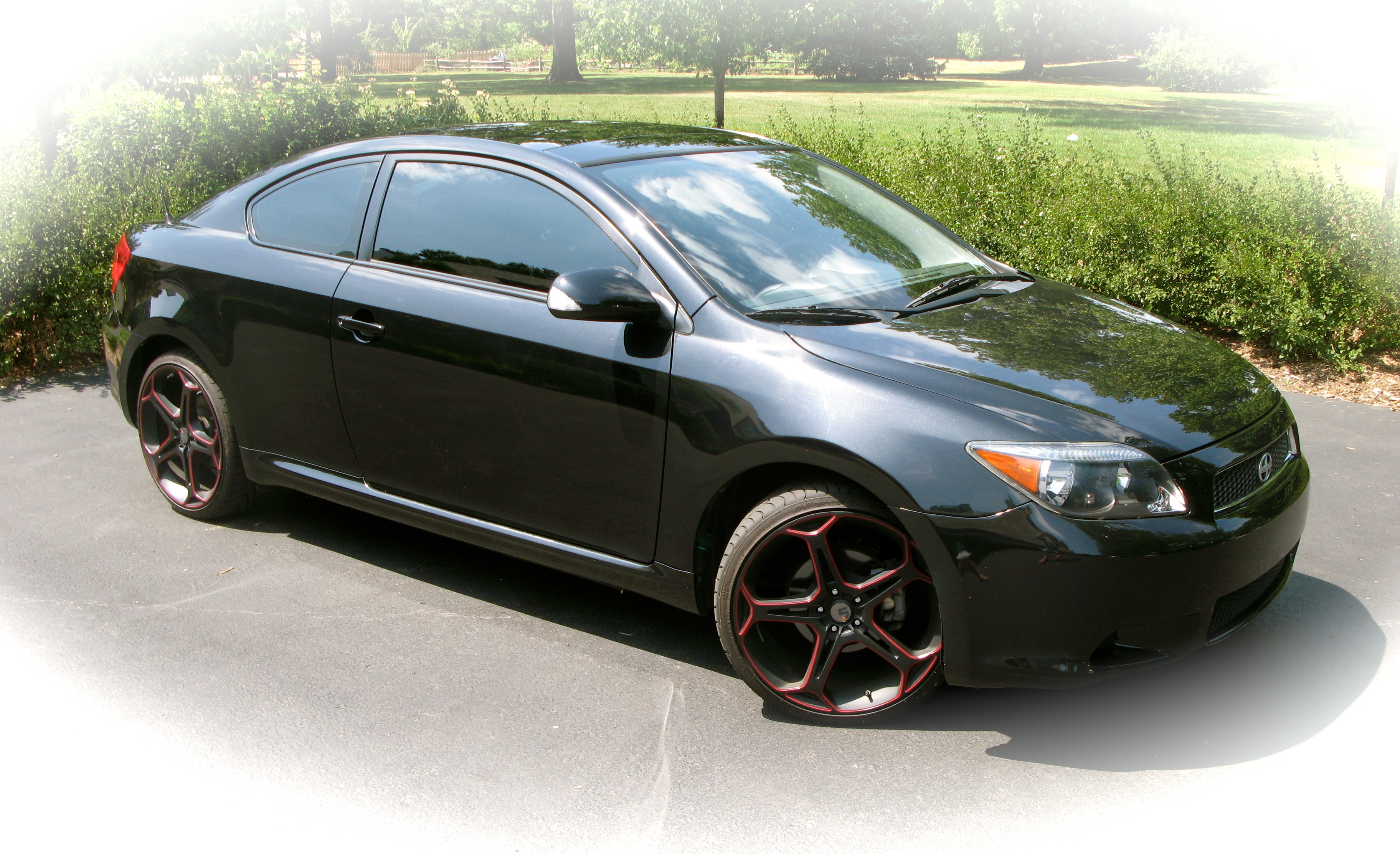 Scion tC black #2