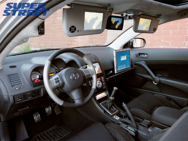 Scion tC interior #1