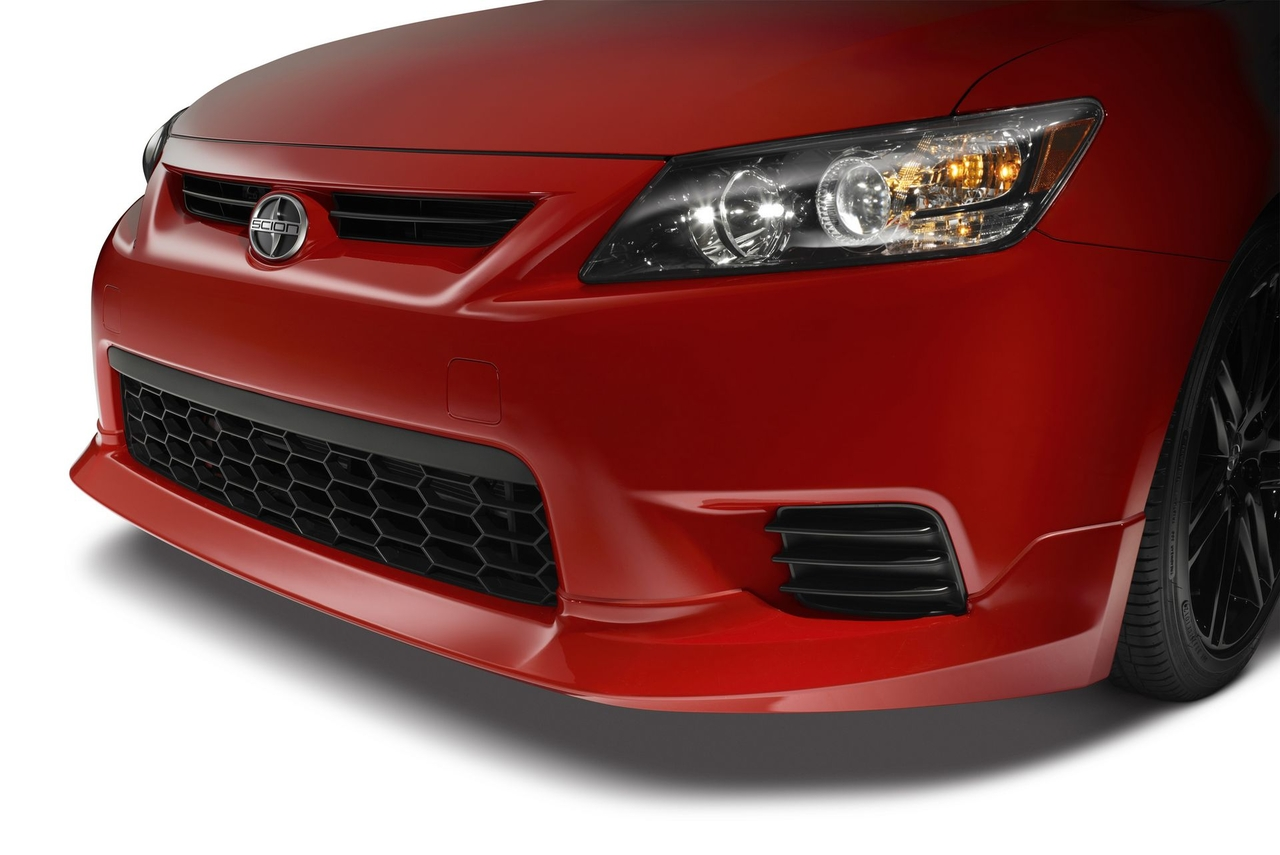 Scion tC red #2
