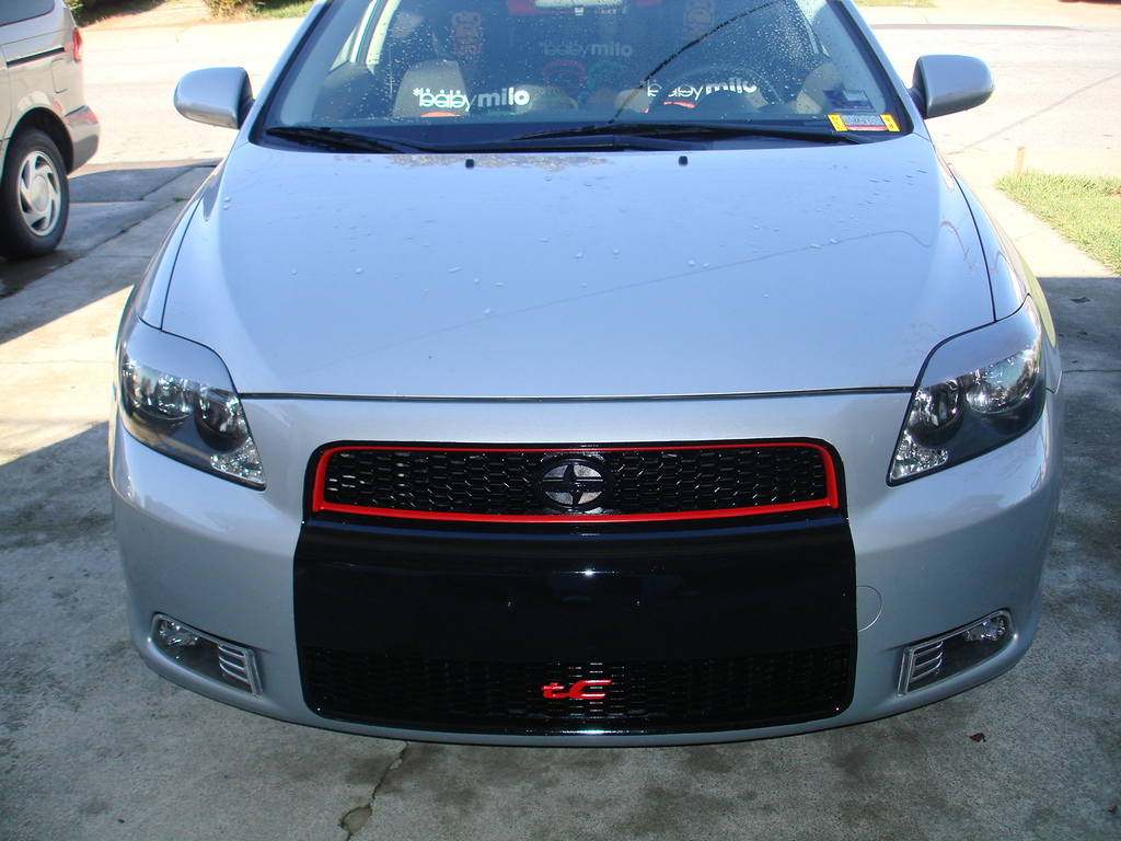 Scion tC red #4