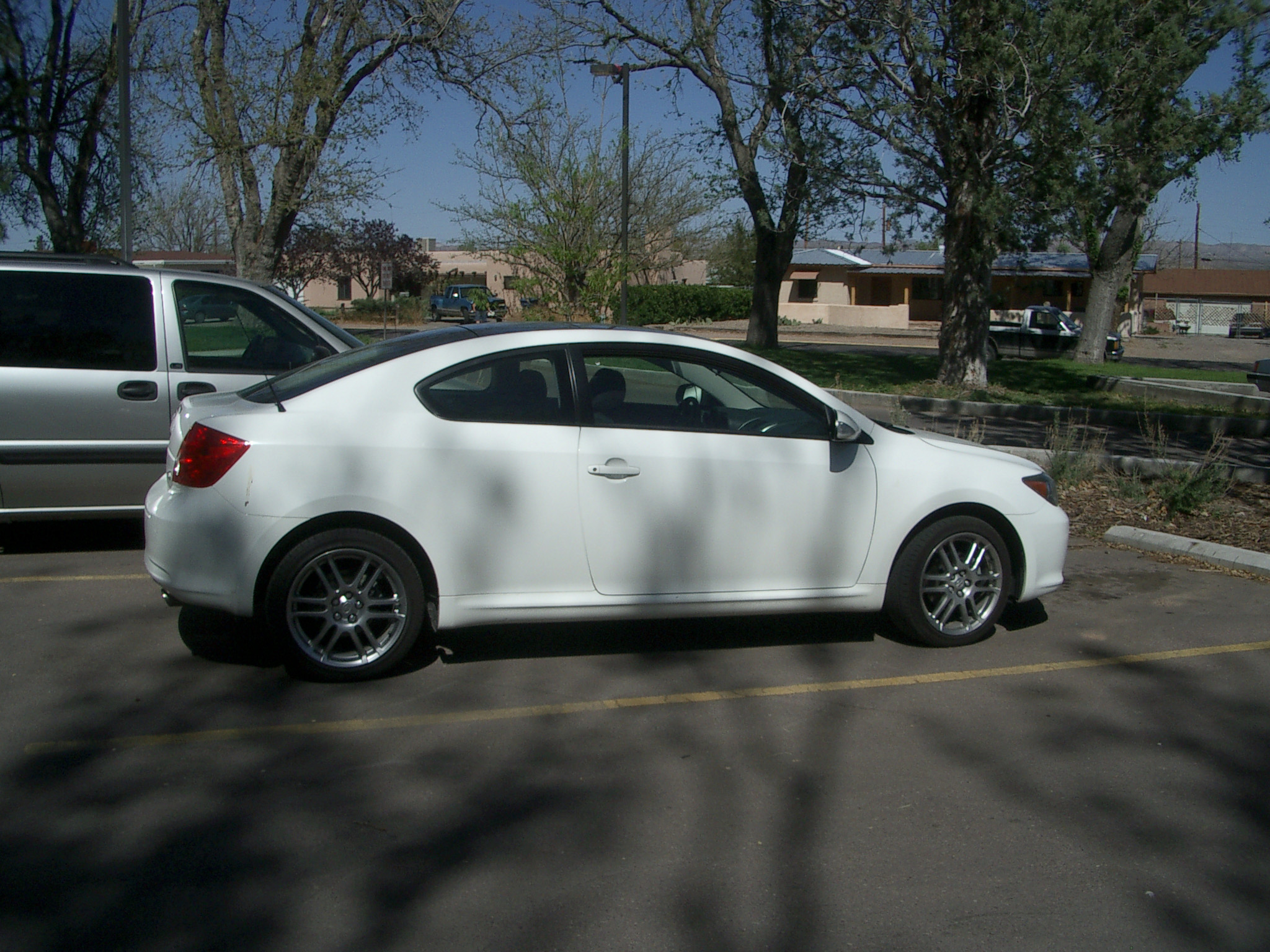 Scion tC white #2