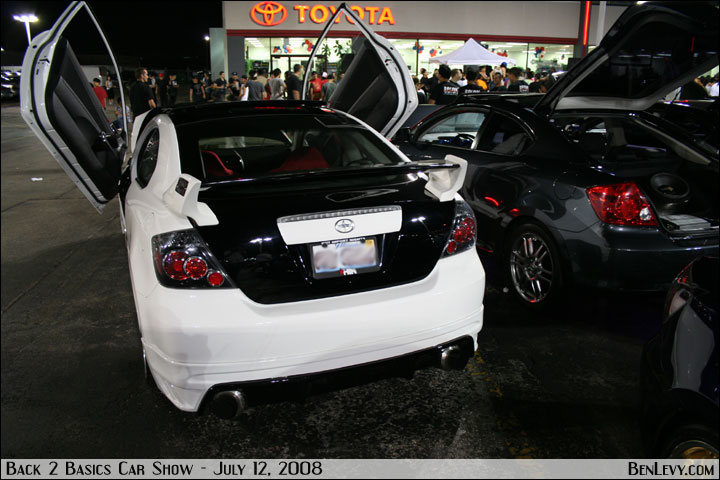 Scion tC white #3