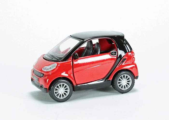 smart fortwo red #1