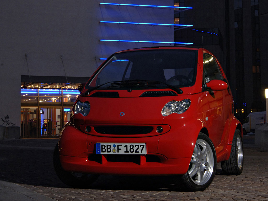 smart fortwo red #2