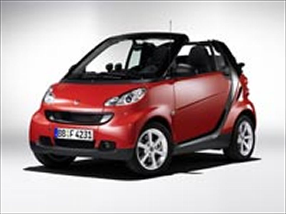 smart fortwo red #3