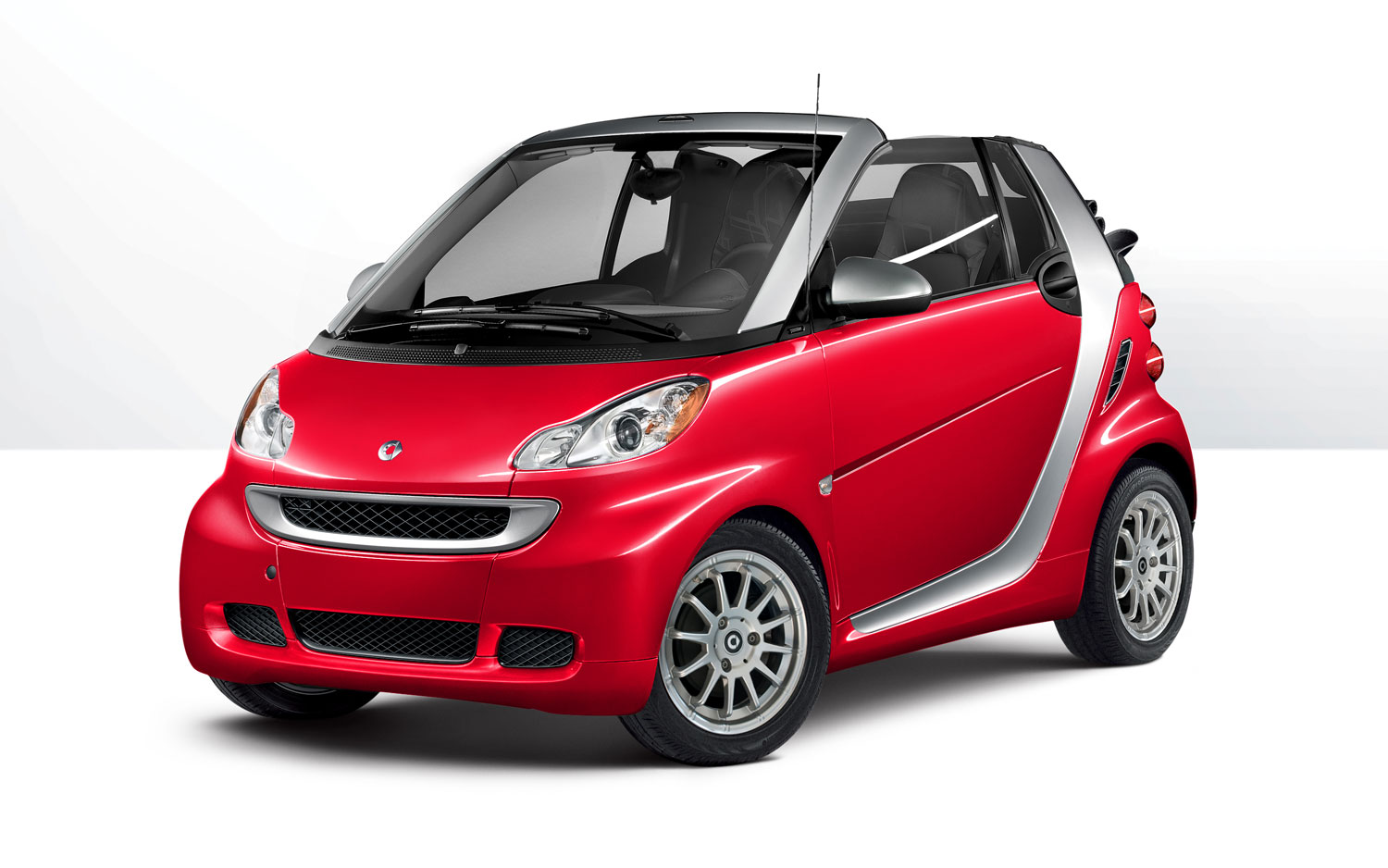 smart fortwo red #4