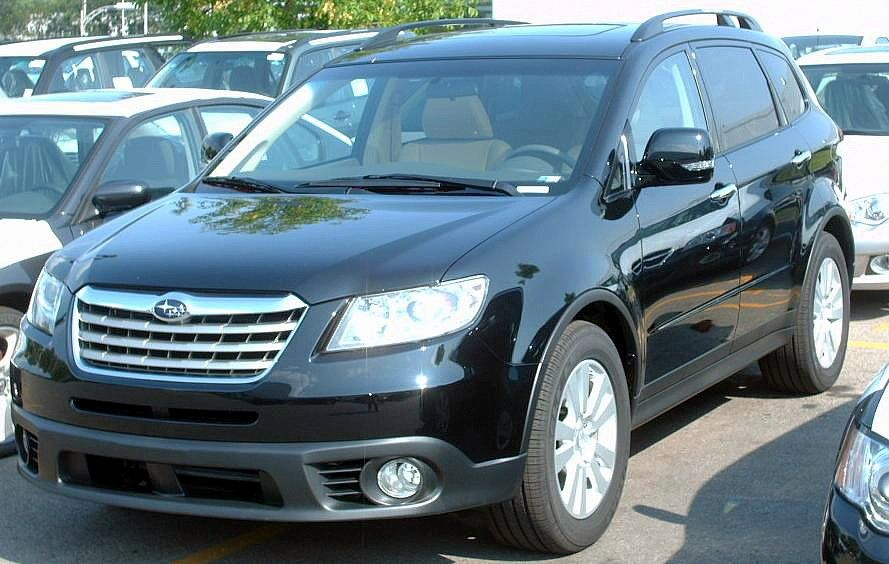 Subaru B9 Tribeca black #1