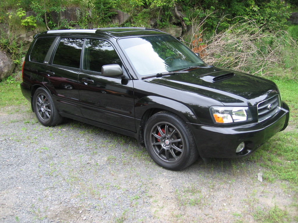 Subaru Forester black #2