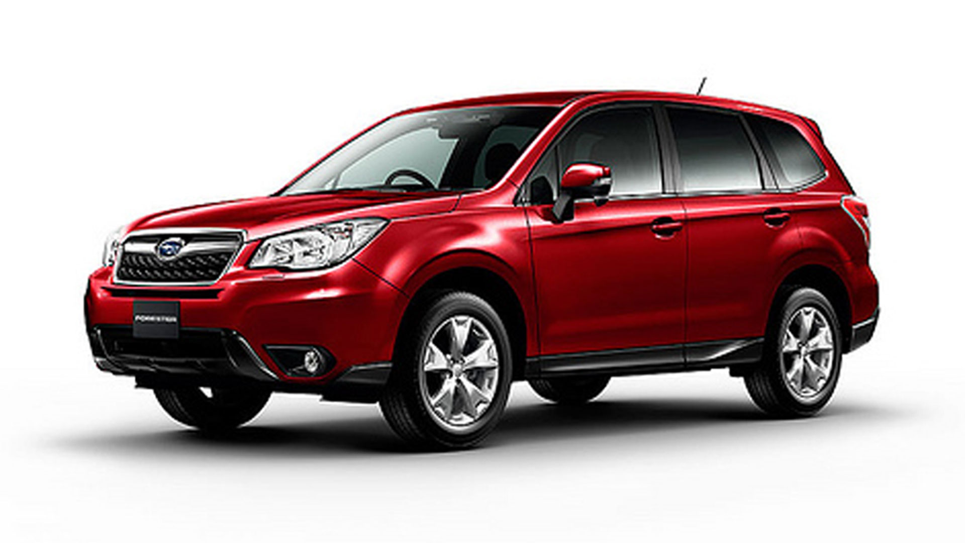 Subaru Forester red #2