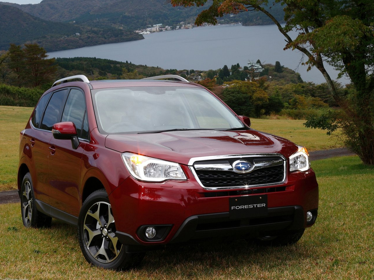 Subaru Forester red #3