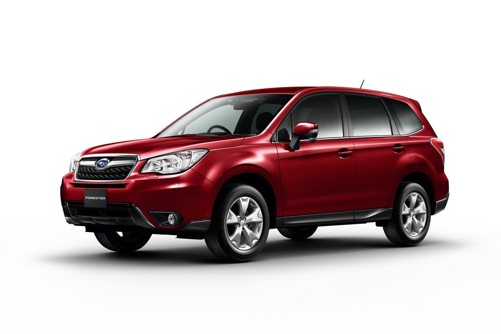 Subaru Forester red #4