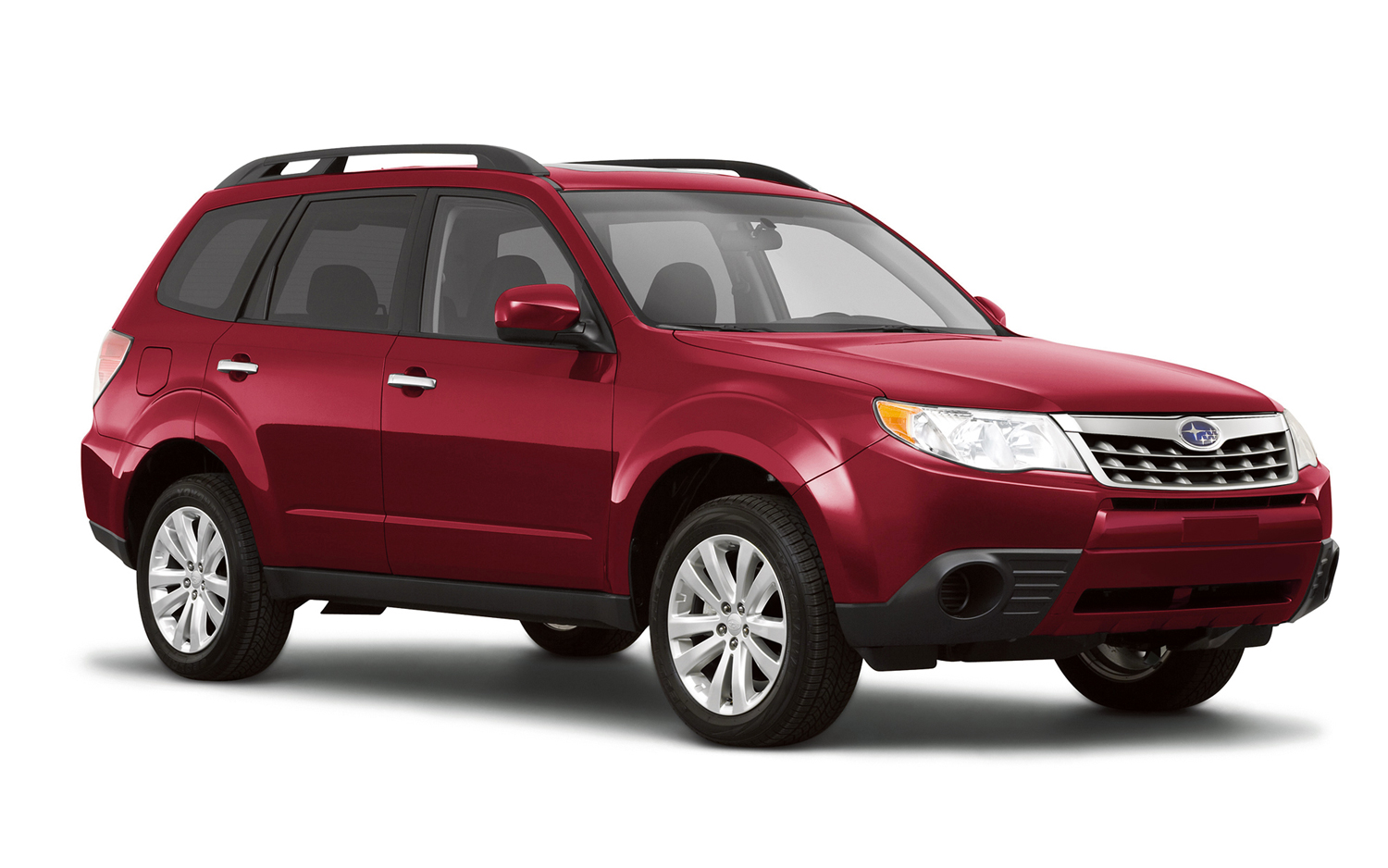 Subaru Forester red #1