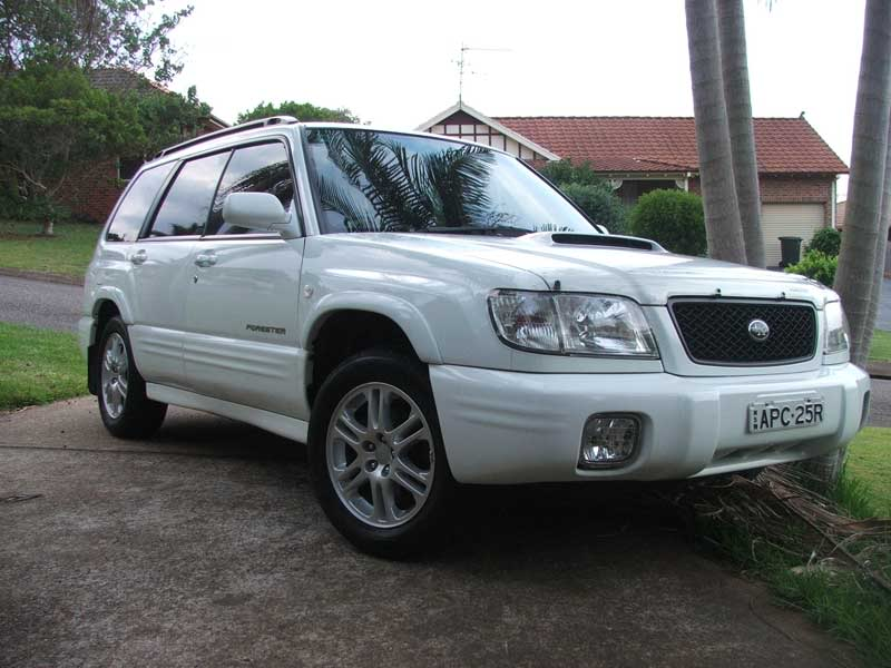 Subaru Forester white #2