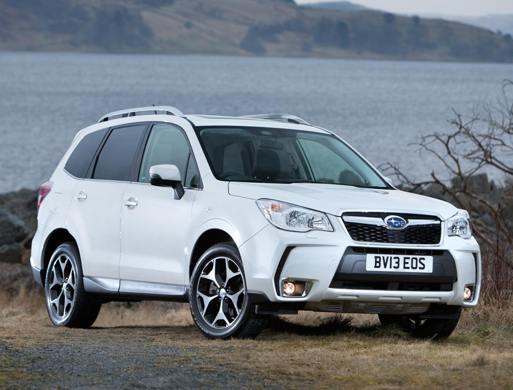 Subaru Forester white #4