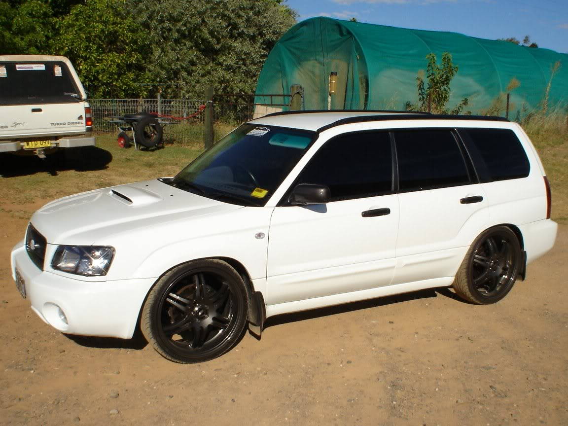 Subaru Forester white #1