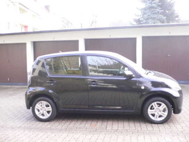 Subaru Justy black #4