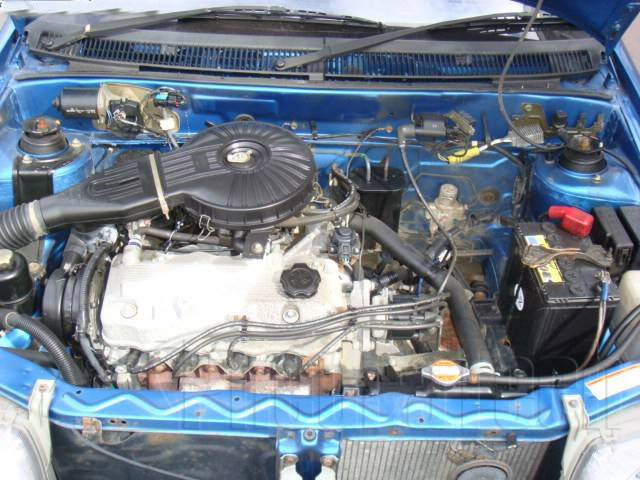 Subaru Justy engine #1