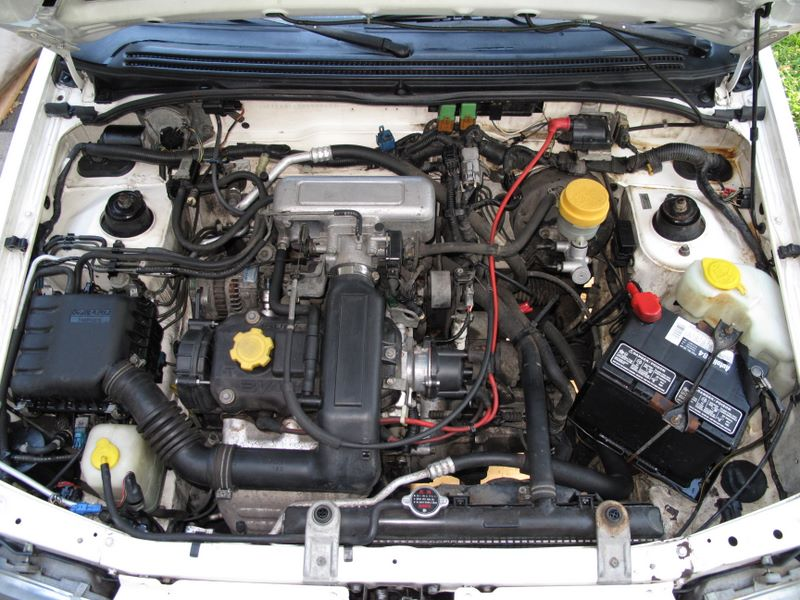Subaru Justy engine #2