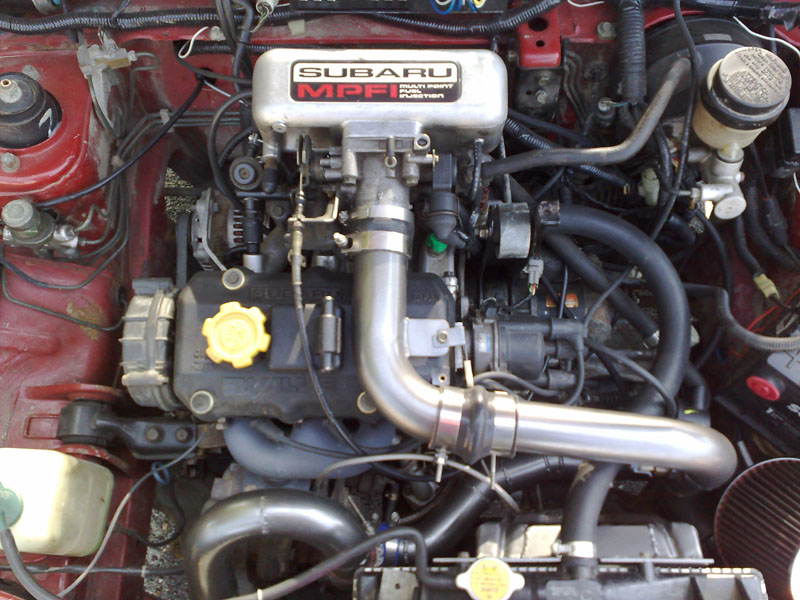 Subaru Justy engine #3