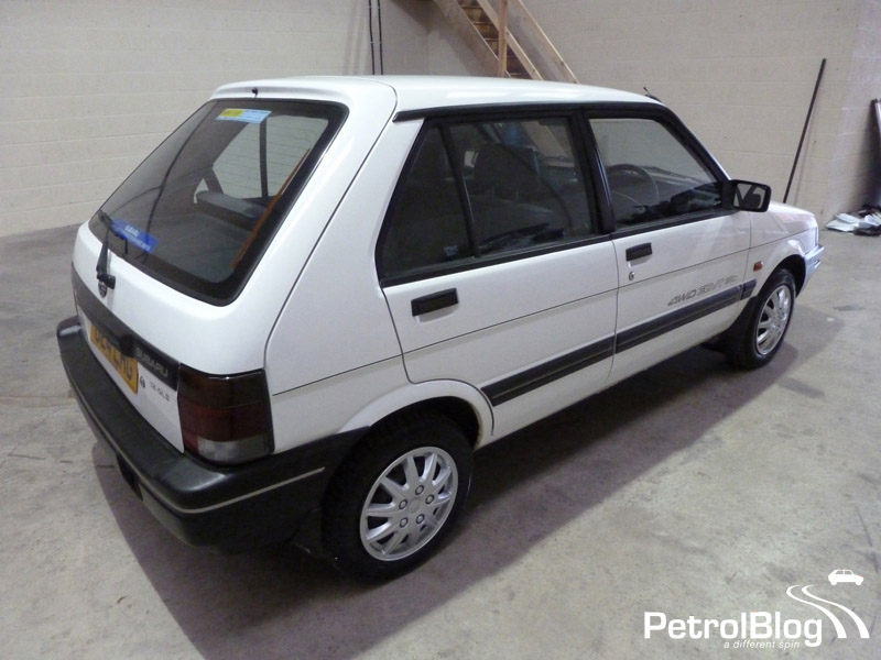 Subaru Justy white #1