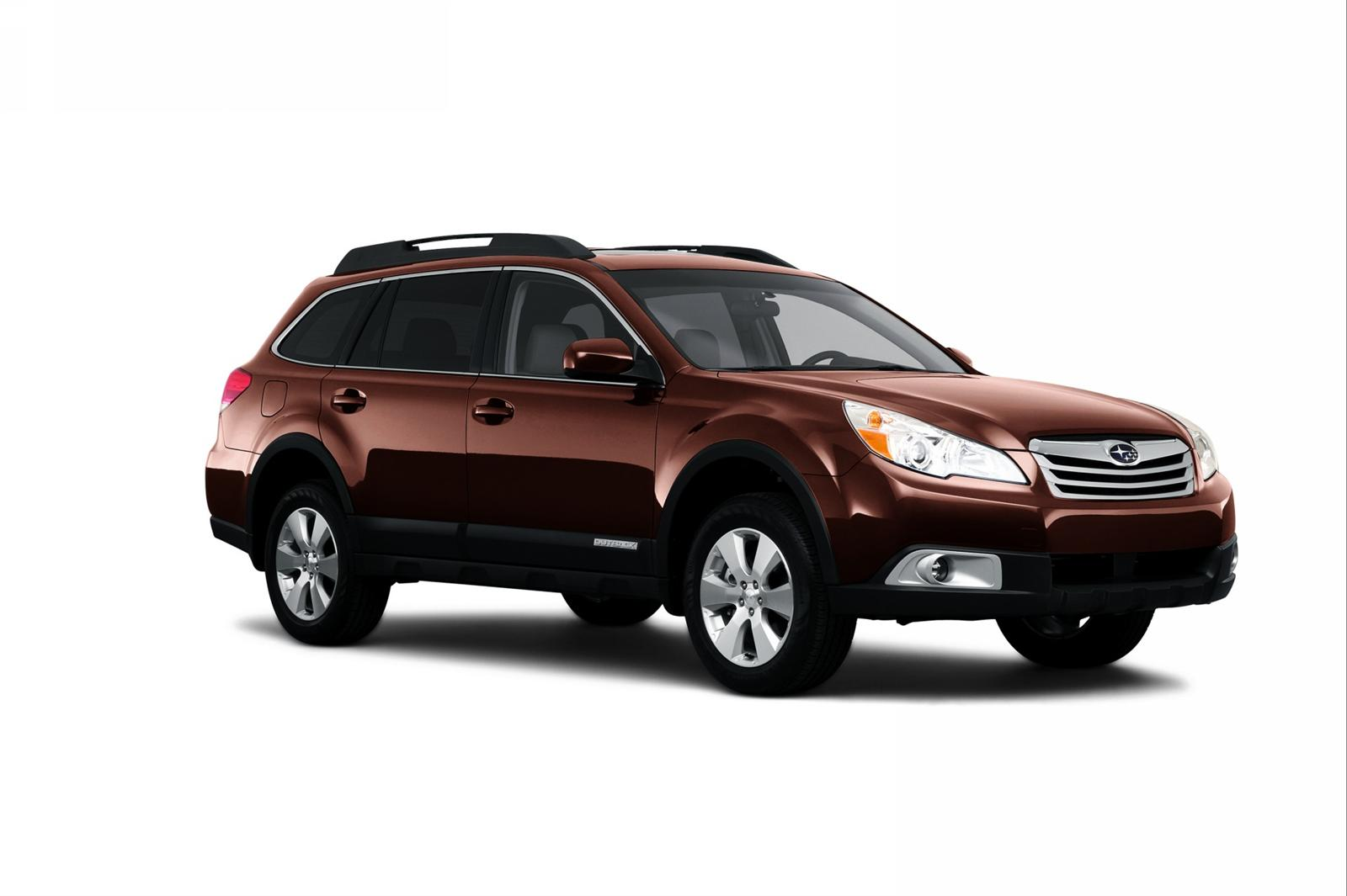 Subaru Outback red #1