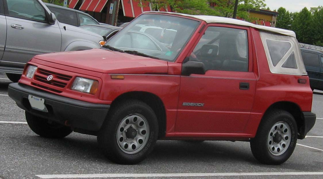 Suzuki Sidekick red #1