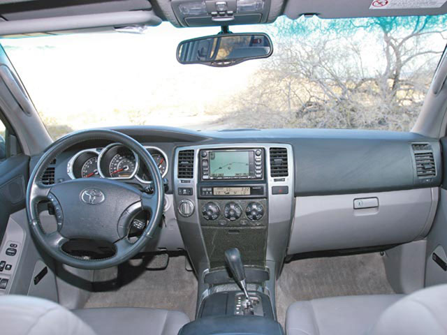 Toyota 4Runner interior #4