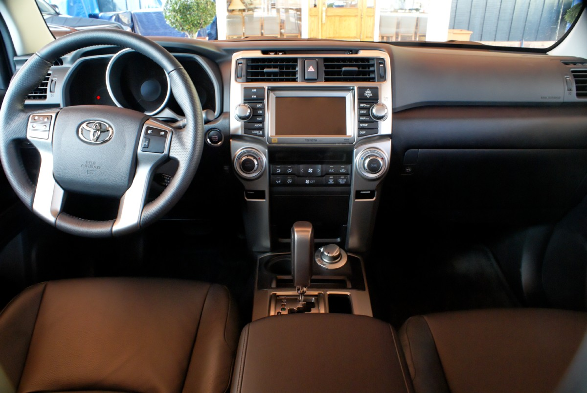 Toyota 4Runner interior #1