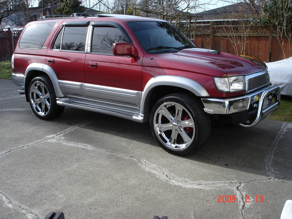 Toyota 4Runner red #2