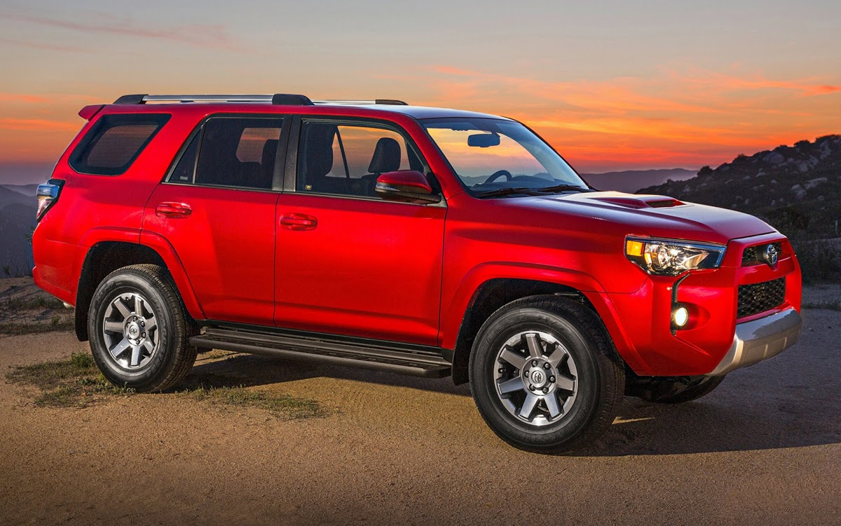 Toyota 4Runner red #4