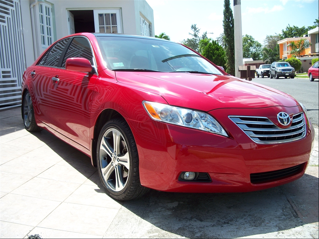 Toyota Camry red #1