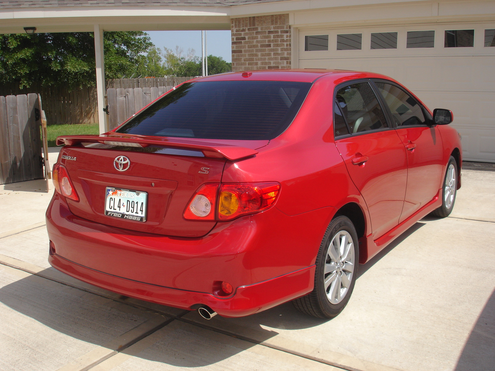 Toyota Corolla red #1